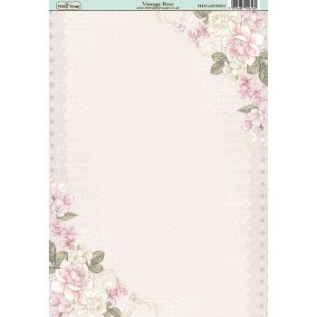The Hobby House Vintage Rose Paper