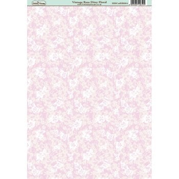 The Hobby House Vintage Rose Ditsy Floral Paper