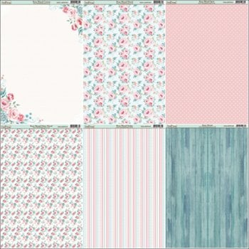 The Hobby House Rose Wood Paper Collection