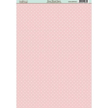 The Hobby House Rose Wood Spot Paper