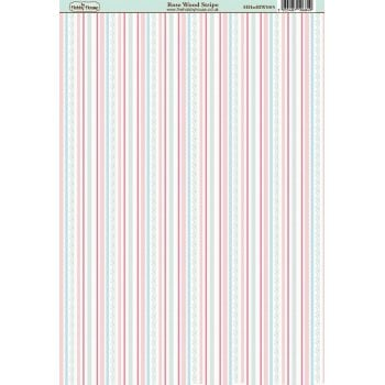 The Hobby House Rose Wood Stripe Paper