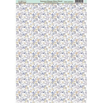 The Hobby House Summer Dream Ditsy Floral Paper