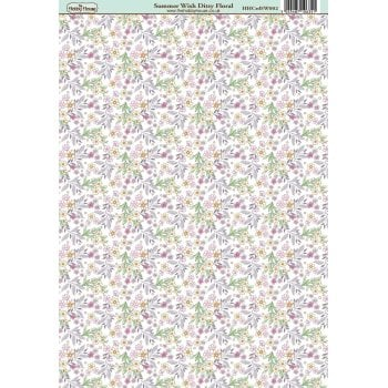 The Hobby House Summer Wish Ditsy Floral Paper
