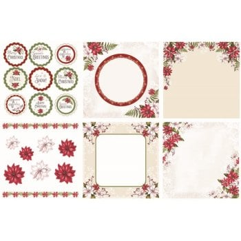The Hobby House Winter Garden Decorative Panels and Die-cuts