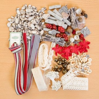 The Hobby House Winter Wonderland Rustic Embellishment Collection