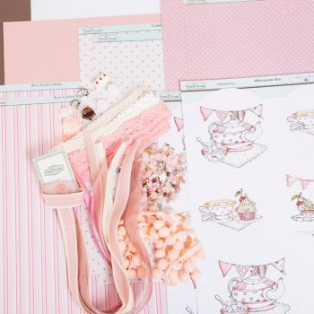 The Hobby House Afternoon Tea Embellishment Collection