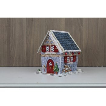 The Hobby House Winter Cottage Kit