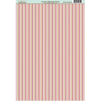 The Hobby House Autumn Blessings Stripe Paper