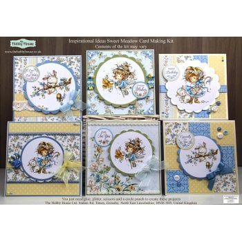 The Hobby House Wee Sweet Meadow Cardmaking Kit (UK Delivery Only)