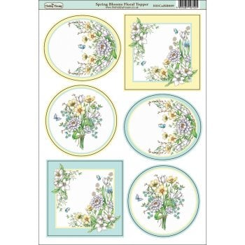 The Hobby House Spring Blooms Floral Topper