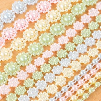 The Hobby House Spring Coloured Pearl Strings Collection Slight Seconds