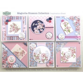 The Hobby House Magnolia Blossom Collection (UK Delivery Only)