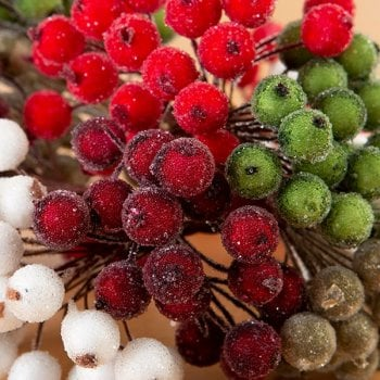 The Hobby House Christmas Frosted Berries SLIGHT SECONDS
