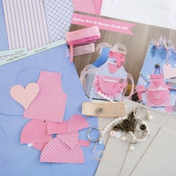 The Hobby House Apron and Notebook Kit