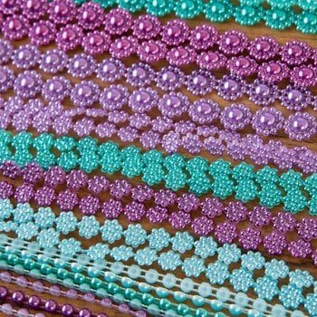 The Hobby House Treasure Coloured Pearl Strings Collection