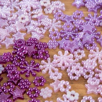 The Hobby House Amethyst Twist Pearl Selection