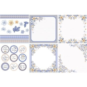 The Hobby House Summer Dream Decorative Panels and Die-cuts