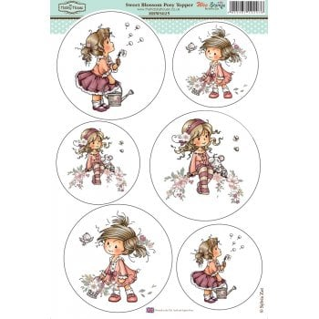 The Hobby House Wee Stamps - Sweet Blossom Posy SLIGHT SECONDS