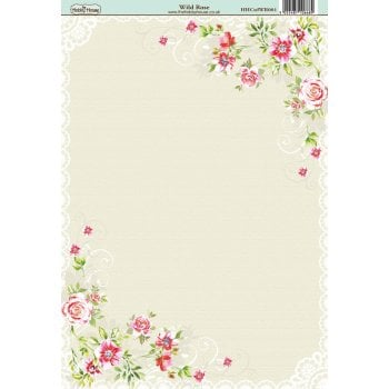 The Hobby House Wild Rose Paper