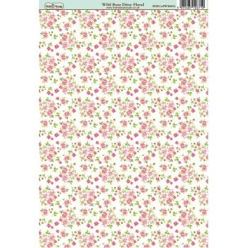 The Hobby House Wild Rose Ditsy Floral Paper