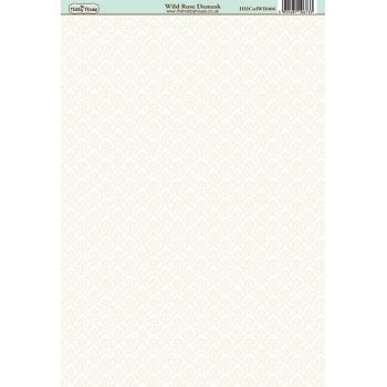 The Hobby House Wild Rose Damask Paper