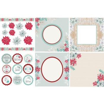 The Hobby House Merry & Bright Decorative Panels and Die-cuts