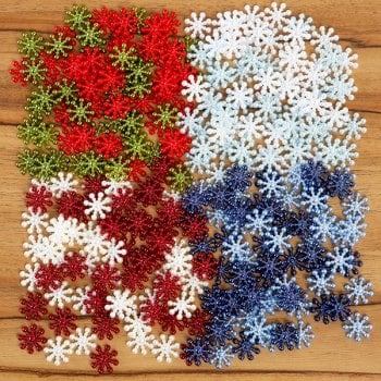 The Hobby House Pearl Snowflakes Collection SLIGHT SECONDS