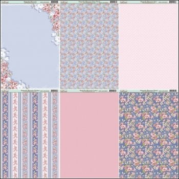 The Hobby House Magnolia Blossoms Paper Collection