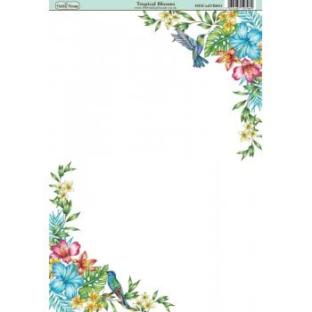 The Hobby House Tropical Blooms Paper
