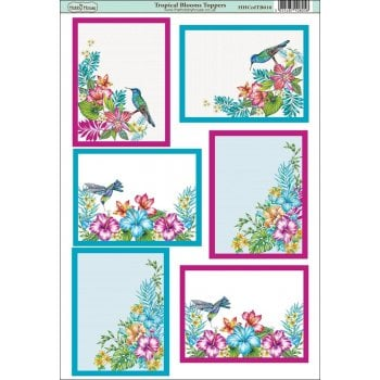The Hobby House Tropical Blooms Toppers