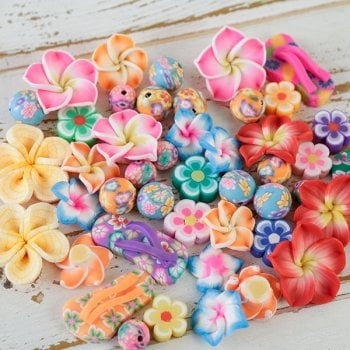 The Hobby House Hibiscus Embellishment Pack