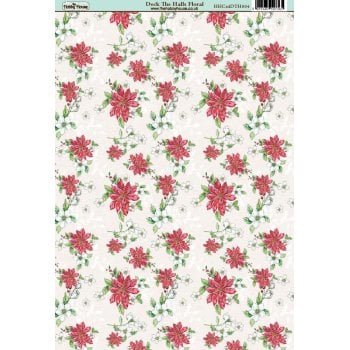 The Hobby House Deck the Halls Floral Paper