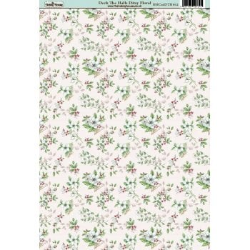 The Hobby House Deck the Halls Ditsy Floral Paper