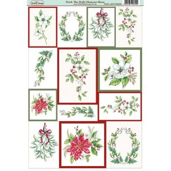 The Hobby House Deck the Halls Element Sheet