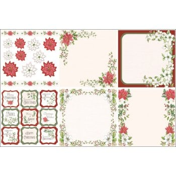 The Hobby House Deck the Halls Decorative Panels and Die-cuts