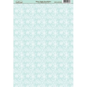 The Hobby House Silent Night Snowflakes Patterned Paper