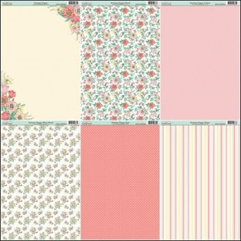 The Hobby House Parisian Poppy Paper Collection