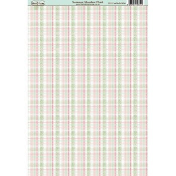 The Hobby House Summer Meadow Plaid Paper
