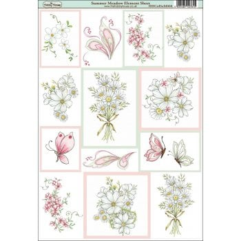 The Hobby House Summer Meadow Element Sheet