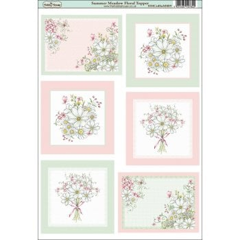 The Hobby House Summer Meadow Floral Topper SLIGHT SECONDS