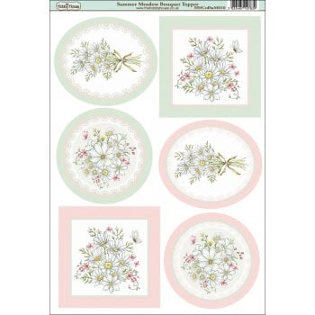The Hobby House Summer Meadow Bouquet Topper SLIGHT SECONDS