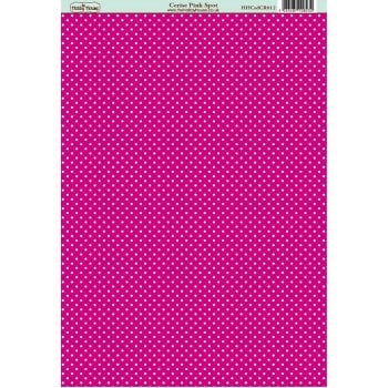 The Hobby House Classic Cerise Pink Spot Paper SLIGHT SECONDS