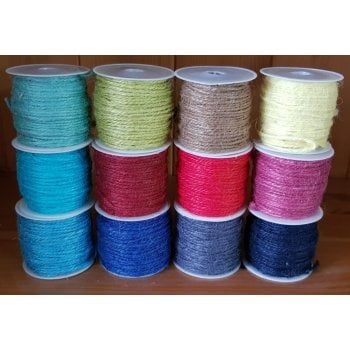 The Hobby House Coloured Twine Collection