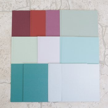 Emerald Pearlescent Squares 15cm set of 36 (UK delivery only)