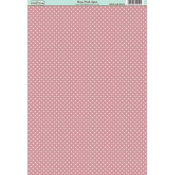 The Hobby House Classic Rosa Pink Spot Paper