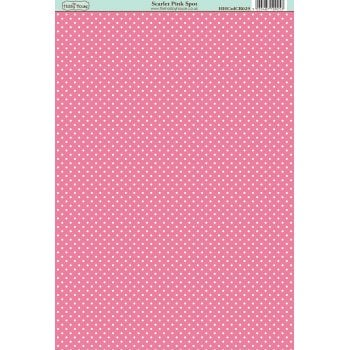 The Hobby House Classic Scarlet Pink Spot Paper