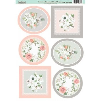 The Hobby House Summer Bouquet Floral Topper Slight Seconds