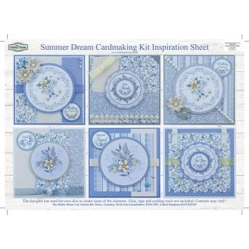 The Hobby House Summer Dream Card Making Kit (UK DELIVERY ONLY)