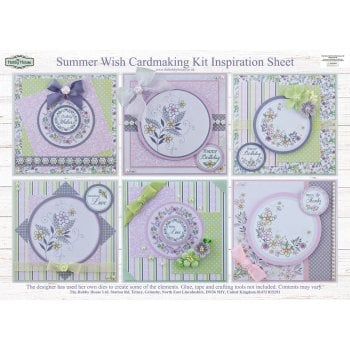 The Hobby House Summer Wish Card Making Kit (UK DELIVERY ONLY)