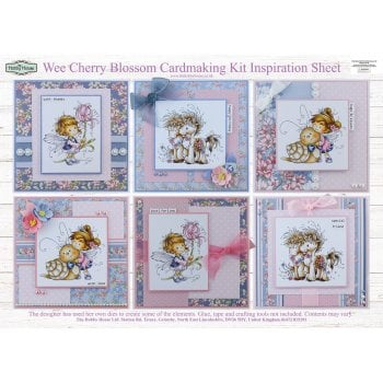 The Hobby House Wee Cherry Blossom Cardmaking Kit (UK Delivery Only) Slight Seconds